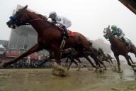 APTOPIX Preakness Stakes Horse Race