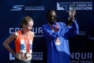 2016 LA Marathon Winners