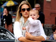Mother Alessandra Ambrosio