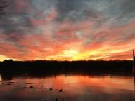 [UGCHAR-CJ]sunrise over Middle Bolton Lake