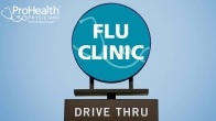 ProHealth Physicians Offers Drive-Thru Flu Clinic