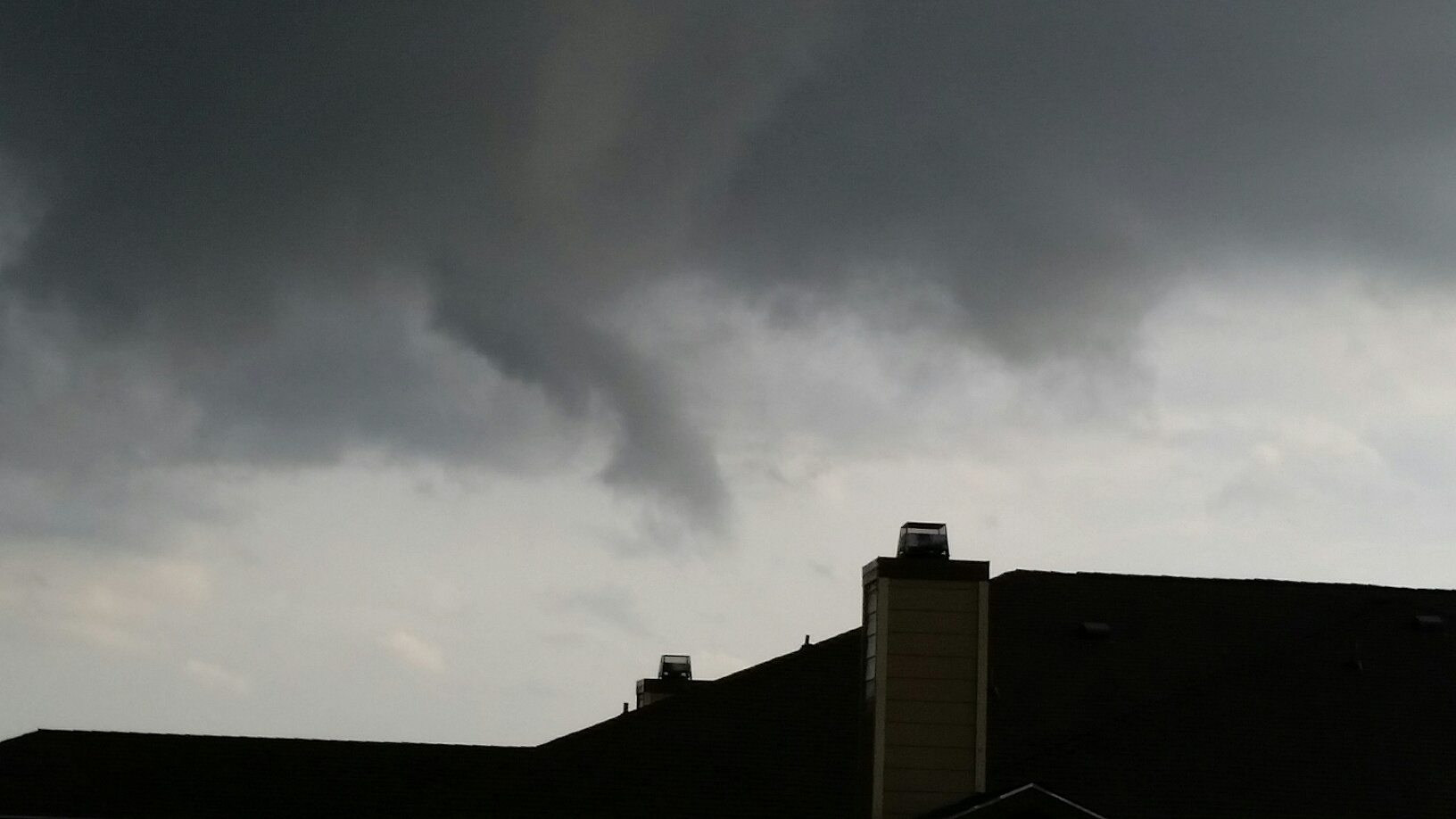 Watauga tornado picture today Ray White Road and North Tarrant Parkway.