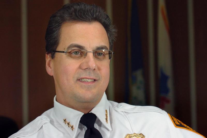 Bridgeport Police Chief Joseph Gaudett Jr.