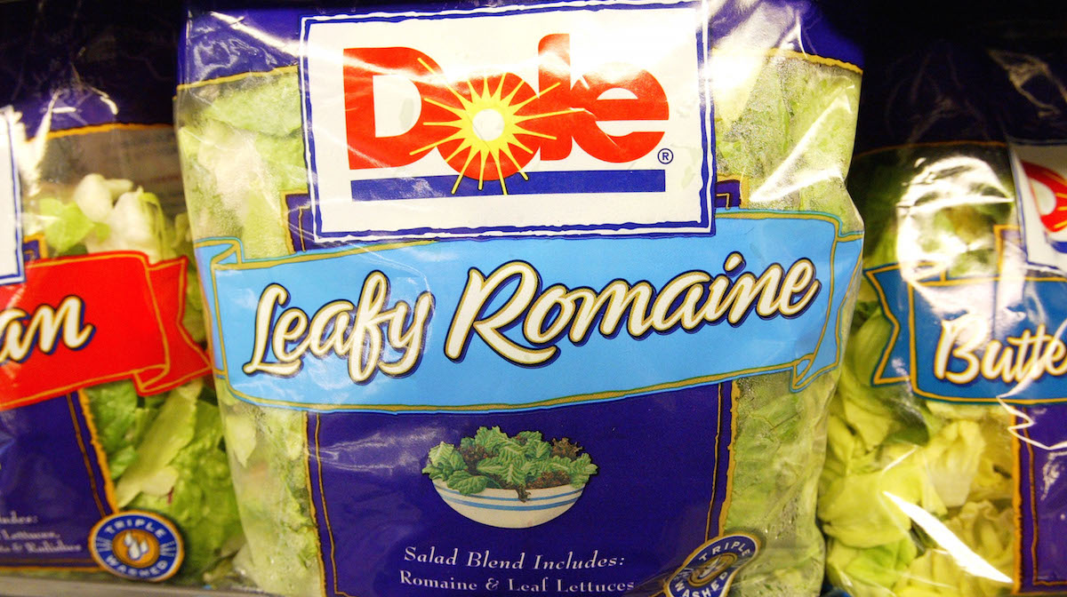 FILE Photo - The U.S. Department of Justice was investigating a deadly Listeria monocytogenes outbreak linked to packaged salad products from Dole's processing plant in Springfield.