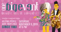 Hartford Gay & Lesbian Health Collective's One Big Event Saturday, November 9th 2019