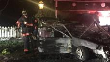Two People Burned in Car Fire in Danbury
