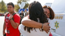Pictures: Students, Parents Reunite After Deadly Calif. School Shooting