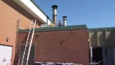 Fire Damages North Branford Elementary School