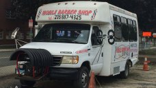 New Haven Barber Offers Haircuts Out Of Mobile Shop