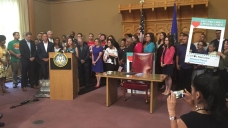 Lamont Signs Paid Family & Medical Leave Act