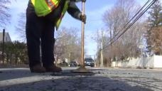 New London Crews Fixing Potholes