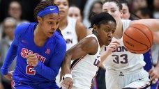 Samuelson, Collier Lead No. 3 UConn Women Past SMU 79-39