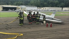 Plane Safely Lands After In-Flight Emergency in Danbury