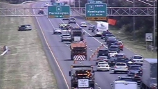 Lanes Closed on I-84 in Farmington Following Crash