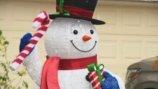 Family Told to Remove Snowman Because It's Not Christmas Yet