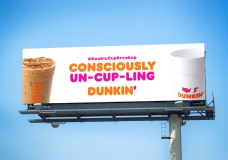 No More Double-Cupping at Dunkin'