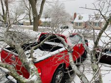 PHOTOS: Snow, Sleet and Ice Cover the State