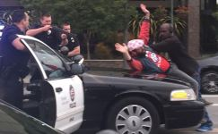 """Man Steps in Front of Car, Peacefully Ends """"Victory Parade"""" Police Pursuit"""