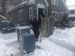 Photos: Connecticut Digs Out After Blizzard