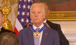 Biden Presented With Presidential Medal of Freedom