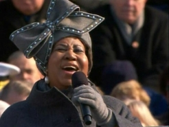 """Aretha Franklin Sings """"My Country 'Tis of Thee"""""""