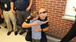 Amarillo Police Escort Fallen Officer's Son to School