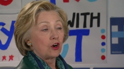 Hillary Clinton Discusses Her Presidential Campaign