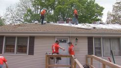 WWII Vet Gets House Renovation