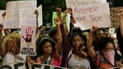 Dramatic Photos: Protests in Charlotte