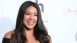 Rodriguez Offers Fan Globes Gown for Prom