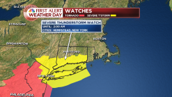 Severe Thunderstorm Watch Issued for Overnight