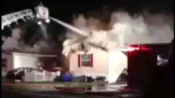 Fire Damages East Windsor Tobacco Barn and Houses
