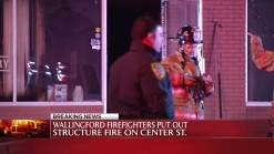 Fire Damages Chinese Restaurant in Wallingford