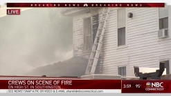 Fire Erupts in Southington Home