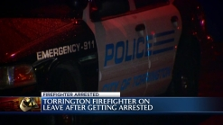 Firefighter Arrested in Torrington