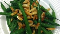 Green Beans with Toasted Almonds and Butter