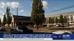 Lock-In Lifted at Hartford Public High School