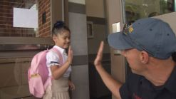 First Day of School for Students in New Britain