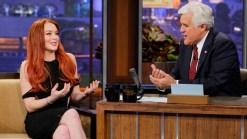 "Lindsay Lohan Talks ""Liz & Dick"" on ""Leno"""