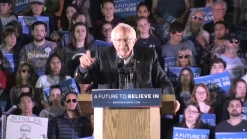 Sanders Rallies With Supporters in New Haven