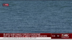 Substance Washes Up on West Haven Beaches