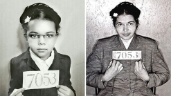 Girl Dresses as Female Icons for Black History Month