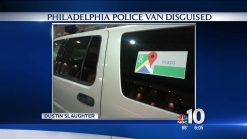 Philly PD Van Disguised as Google Maps Vehicle