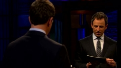 'Late Night': Seth's Affirmations on Aging, Brunch