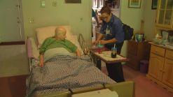 Nurses Assess Elderly As Heat Rises