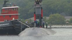 Families and Friends Welcome Submarine Home