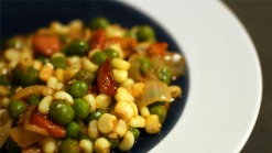 Succotash With Lemon Vinaigrette