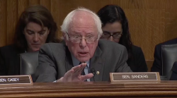 Price, Sanders Argue Over Medicare and Social Security Cuts