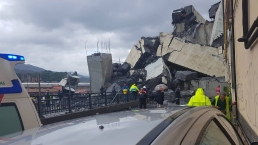 Bridge Collapses Over Italian City, Killing 22