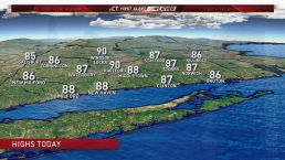 Afternoon Forecast For August 22
